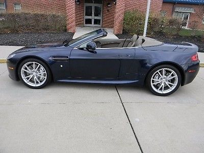 Aston Martin : Vantage Roadster 1 ownr volante over 150 k new service records nice options best deal mint 26 k