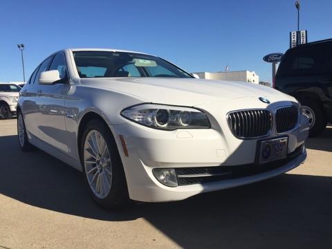 2011 BMW 5 SERIES 4 DOOR SEDAN