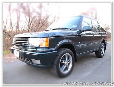 Land Rover : Range Rover HSE  2000 land rover range rover hse p 38 holland holland limited edition