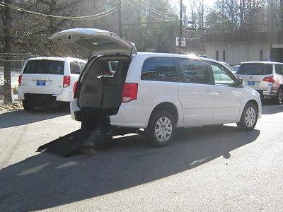 Dodge : Caravan SE Handicap WheelChair Van 2016 white se handicap wheelchair van