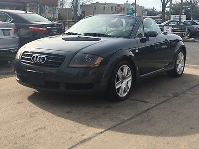 Audi : TT Base Convertible 2-Door low mile 225 free shipping warranty quattro convertible dlr serviced cheap