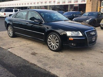 Audi : A8 4.2L free shipping warranty 2 owner clean cheap awd luxury fresh trade in