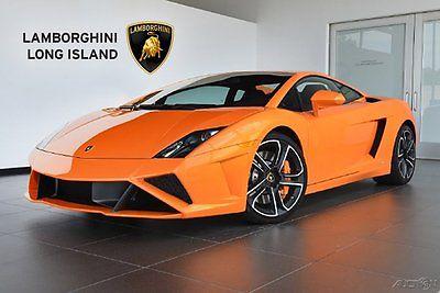 Lamborghini : Gallardo LP560-4 2013 lamborghini gallardo lp 560 4 orange 2 dr awd 5.2 l v 10 40 v