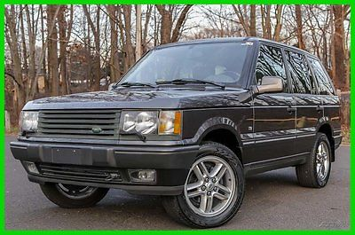 Land Rover : Range Rover 4.6 HSE 2001 land rover range rover hse low 83 k mi navigation loaded