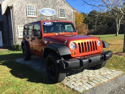 2009 JEEP WRANGLER UNLIMITED 4 DOOR SUV