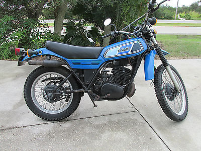 Yamaha : Other 1978 yamaha dt 250 enduro street legal