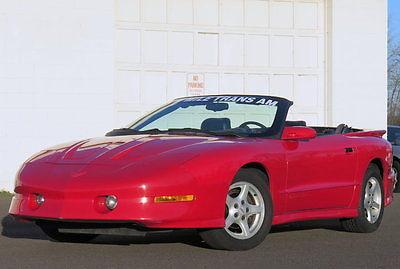 Pontiac : Firebird Trans Am 5.7L V8 Automatic Leather interior Low mileage