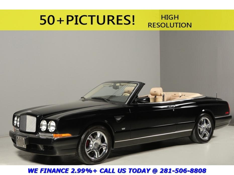 Bentley : Azure 2003 MULLINER EDITION CONVERTIBLE 16K MILES TURBO 2003 bentley azure mulliner edition convertible 16 k miles turbo black tan chrome
