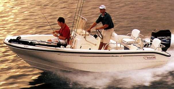 2000 Boston Whaler Dauntless 16