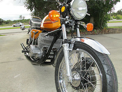 Kawasaki : Other 1972 kawasaki h 2 750 triple original paint period modifications