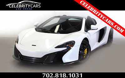Other Makes : 650S 2dr Convertible Spider 2015 mclaren 650 s hardtop convertible white las vegas 1 owner 333 miles