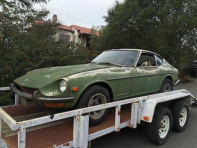 Datsun : Z-Series 240 Z 1972 datsun 240 z california classic parked 20 years title shipping