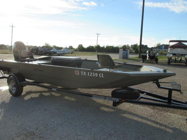 2015 Alumacraft MV1860AW TILLER