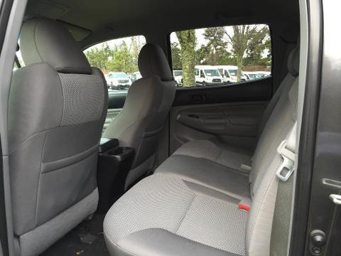 2013 TOYOTA TACOMA 4 DOOR CREW CAB SHORT BED TRUCK