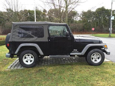 2006 JEEP WRANGLER 2 DOOR SUV