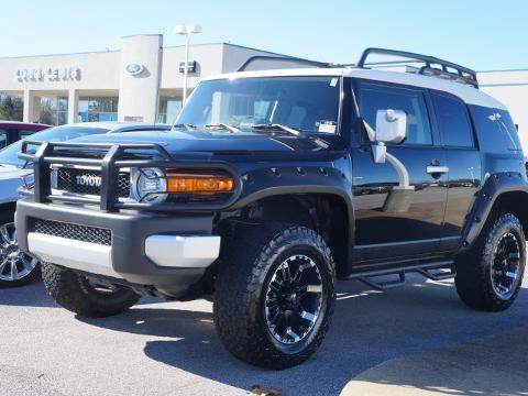 2013 TOYOTA FJ CRUISER 4 DOOR SUV