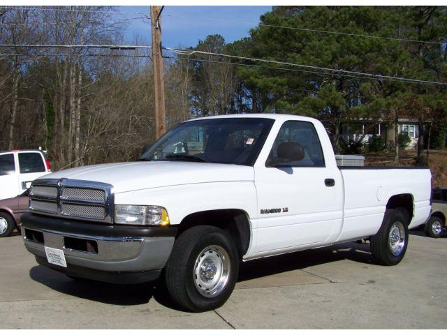Dodge : Ram 1500 1-OWNER 105K FANTASTIC COND 318 V8 GAS NOT DIESEL A-SUPER-NICE-WELL-KEPT-EASY-LIFE-GA-TRUCK-COLD-AC-REG-CAB-5.2L-V8-AUTO-CLOTH-GEM