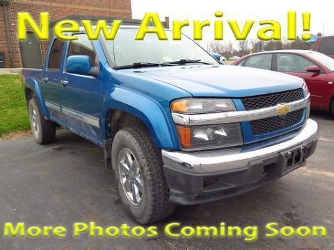 2012 CHEVROLET COLORADO 4 DOOR CREW CAB SHORT BED TRUCK