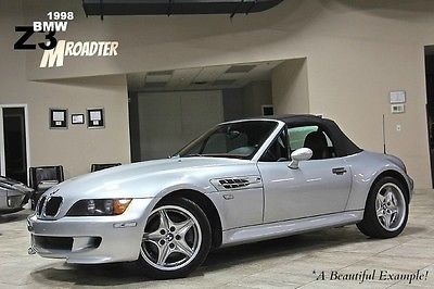 BMW : M Roadster & Coupe 2dr Convertible 1998 bmw z 3 m 3.2 l roadster side impact airbags 5 spd manual dual color interior