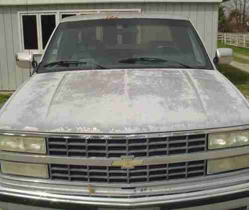 1992 Chevrolet 1500 Extended Cab Transmission: 1992 Chevy Silverado 1500 Cars For Sale