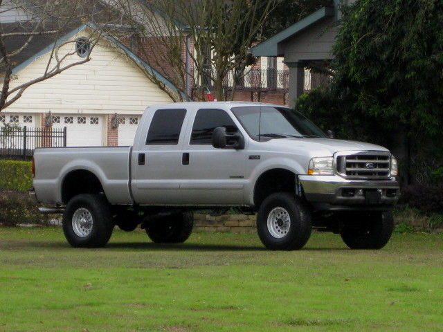Ford : F-250 4x4 DIESEL! CREW CAB SHORT BED ( XLT ) LIFTED! 7.3L DIESEL... $10K IN EXTEAS ALONE