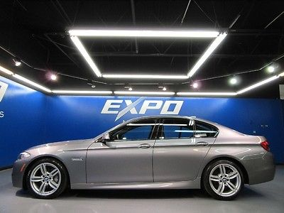 BMW : 5-Series M SPORT BMW 550i M Sport Sedan Executive Luxury Seating Bang Olufsen $80kMSRP!