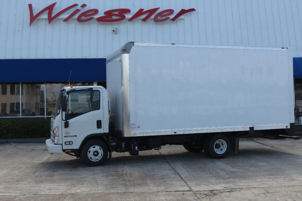 2016 Isuzu Npr-Hd With 18ft Box (van Body) - Diesel