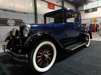 Dodge : Other Dodge Brothers 1927 dodge brothers business coupe frame off restored no expense spared