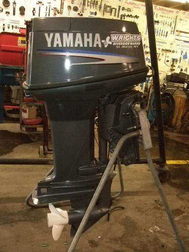 2010 Yamaha Outboards 50 HP Engine and Engine Accessories