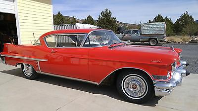 Cadillac : Other RED 1957 Cadillac 62 SERIES DRIVES GREAT,  57 RARE