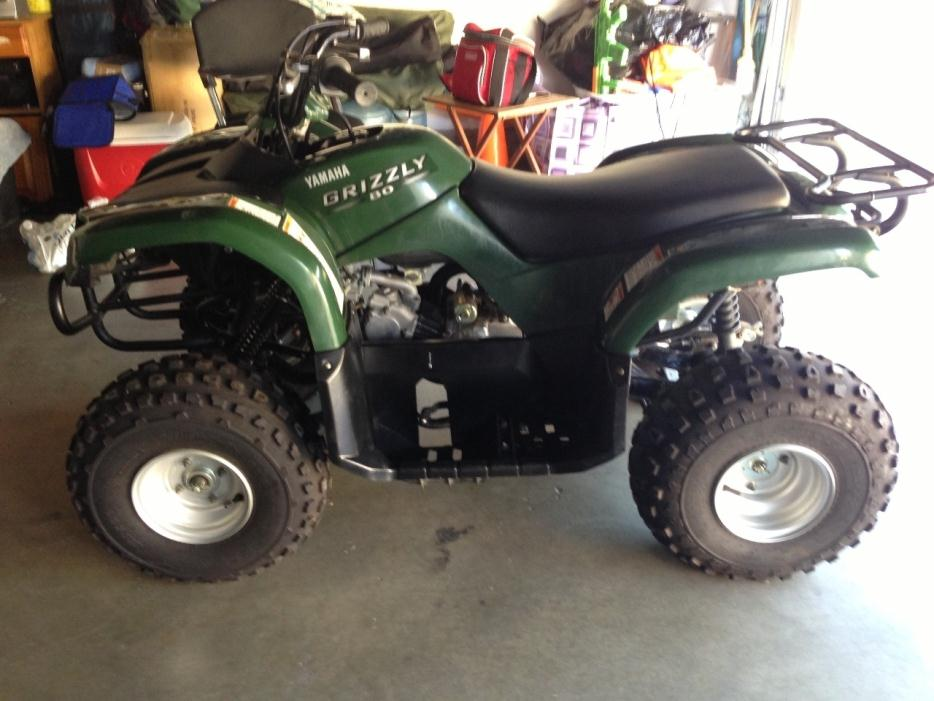 Yamaha grizzly 80 motorcycles for sale for Yamaha kodiak 700 top speed
