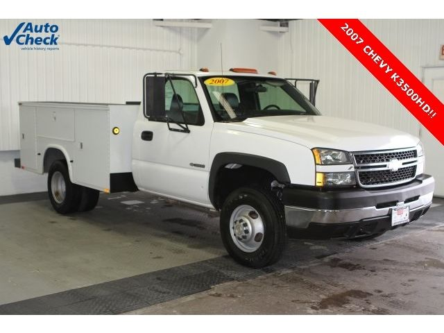 Chevrolet : Silverado 3500 Work Truck Used 07 Chevy K3500 Utility Body Ready for Work, Dual Rear Wheels, 4x4 Low Miles
