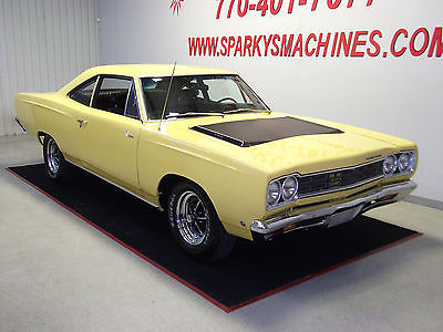 Plymouth : Road Runner 2 Door Coupe 1968 plymouth road runner