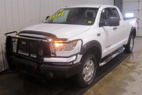 2010 TOYOTA TUNDRA 4 DOOR CREW CAB SHORT BED TRUCK