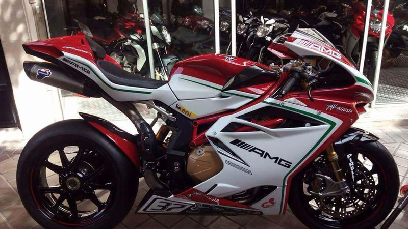 2015 Mv Agusta F4 RC Street Version
