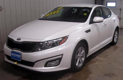 2015 KIA OPTIMA 4 DOOR SEDAN