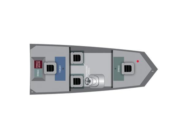 2016 Alumacraft Prowler 165