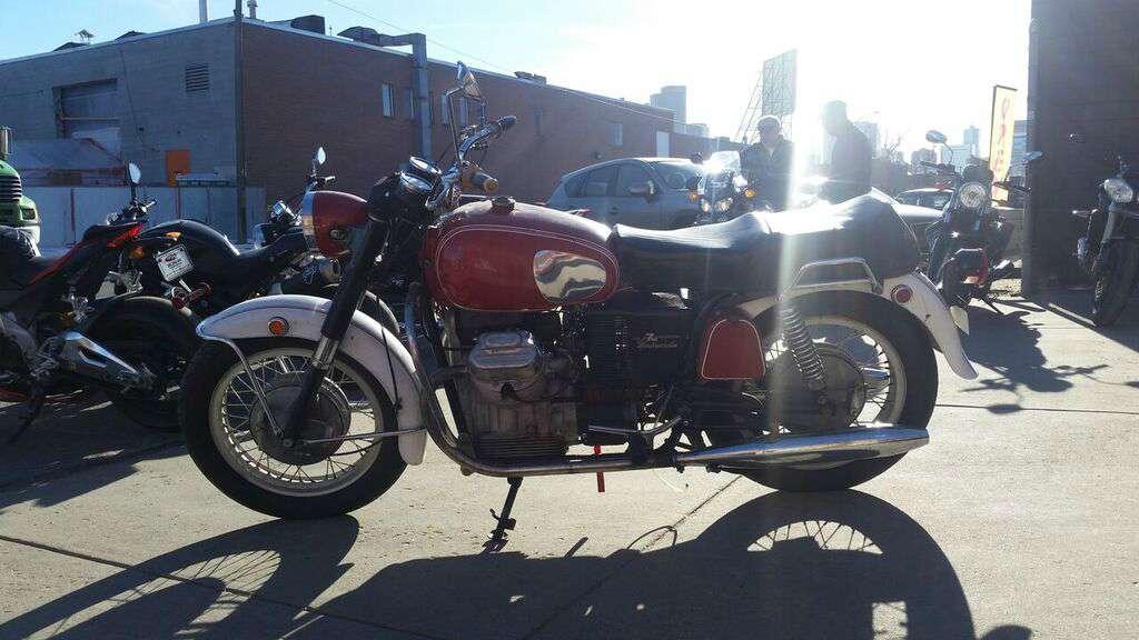 1970 Moto Guzzi Ambassador 750