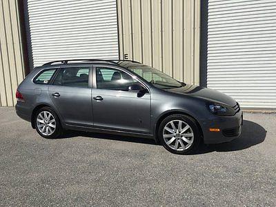 Volkswagen : Jetta TDI PREMIUM Wagon Keyless Pushstart Rear CAM 18k  2014 vw jetta wagon premium loaded push start keyless bluetooth navigation cam