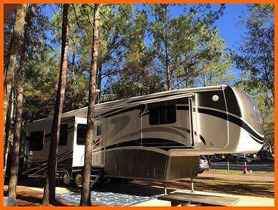 2013 DRV Mobile Suites 36RSSB3 Fifth Wheel WARRANTY 3 Slides King Bed Hitch
