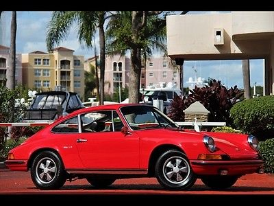 Porsche : 912 Coupe RED 912 ONLY $428.00 A MONTH 1969 SERVICED BLACK INTERIOR