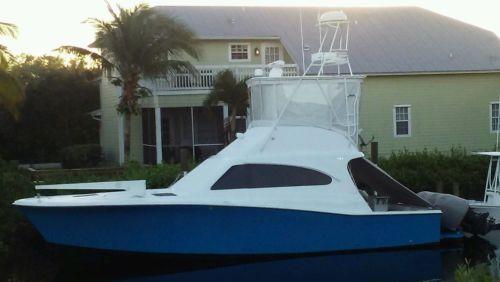 38 Luhrs boat sport fish 350 yamaha outboards triple custom boat