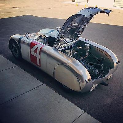 Porsche : Other RÜNGE Aluminum Body Handbuilt Porsche VW Frankfurt Flyer Vintage Okrasa Spyder 550