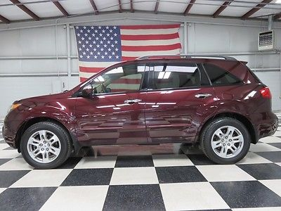 Acura : MDX Tech/Entertainment Pkg Warranty Financing Nav Sunroof Tv Dvd Leather Heated 18's Bluetooth Loaded Nice