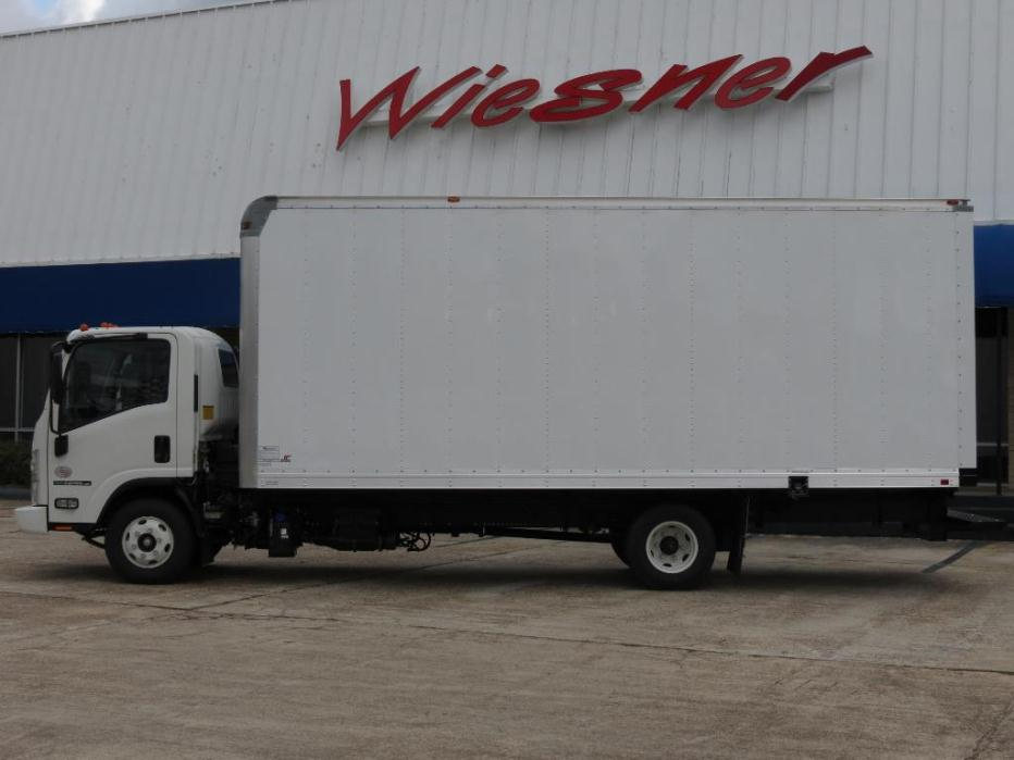 2016 Isuzu Npr-Hd With 20ft Box (van Body) - Diesel
