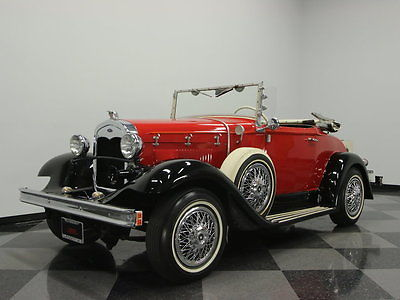 Ford : Other EXCELLENT REPLICA BY GLASSIC, RELIABLE AMC DRIVETRAIN, VERY RARE CAR, SUPER NICE
