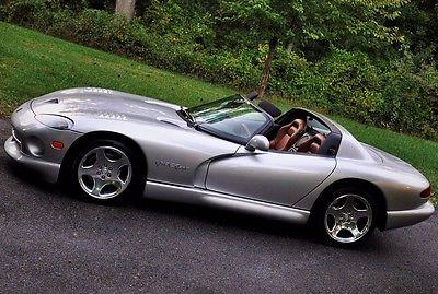 Dodge : Viper R/T-10 Convertible 2-Door 1999 dodge viper r t 10 convertible 2 door 8.0 l