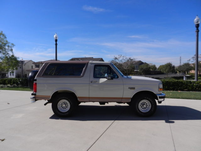 Ford : Bronco EDDIE BAUER EXCELLENT CONDITION~NEW CARPETING~1988, 1989, 1990, 1991, 1993, 1996, 1995, 1996