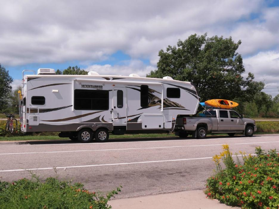 2008 Keystone Everest 295T