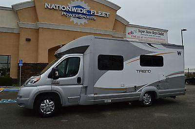 2014 Winnebago Trend 23B Class B RV Motorhome 2k Miles Never Sold Overstock Unit